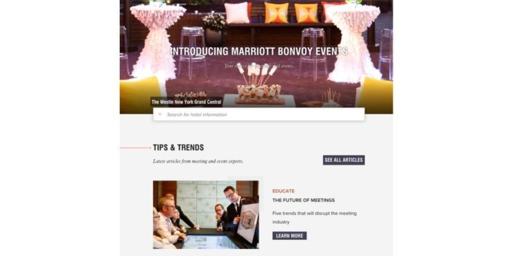 Marriott BonvoyTM Events