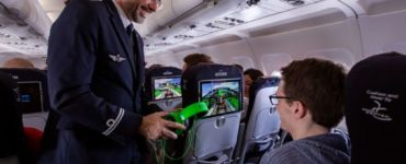 Air France li-fi