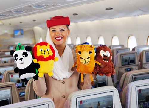 Emirates toys Fly with Me