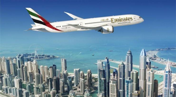 Boeing 787 dreamliner emirates