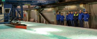 Seabourn Venture Ice Tank Test