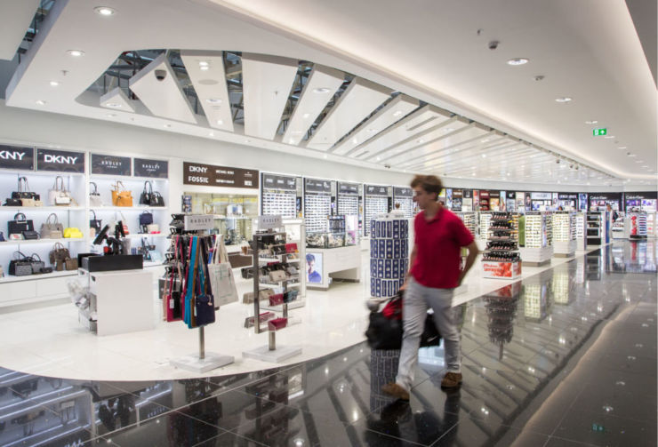 Newcastle Airport's World Duty Free