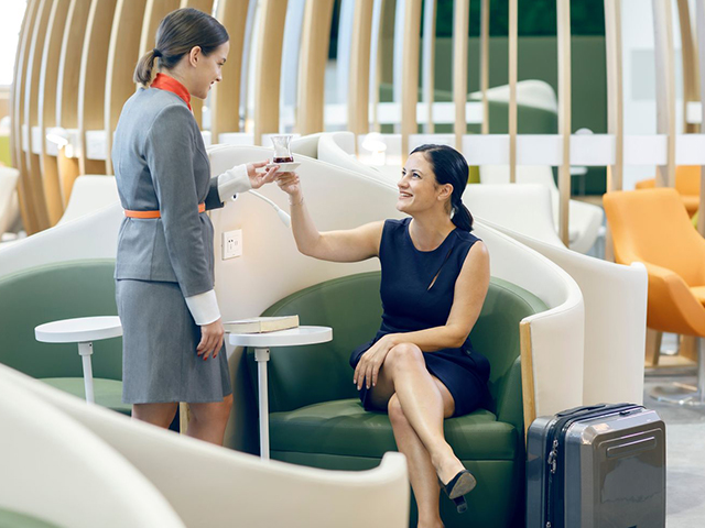 SkyTeam Lounge Istanbul Airport