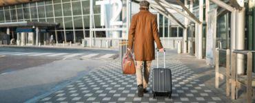 baggage helsinki airport traveller