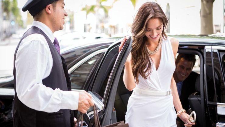 Beverly Wilshire car luxury