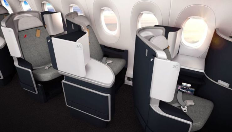 Business air france Air France New Cabins