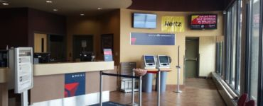 Delta Air Lines check-in