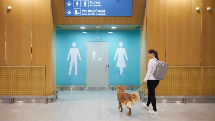 Helsinki Airport pet-friendly