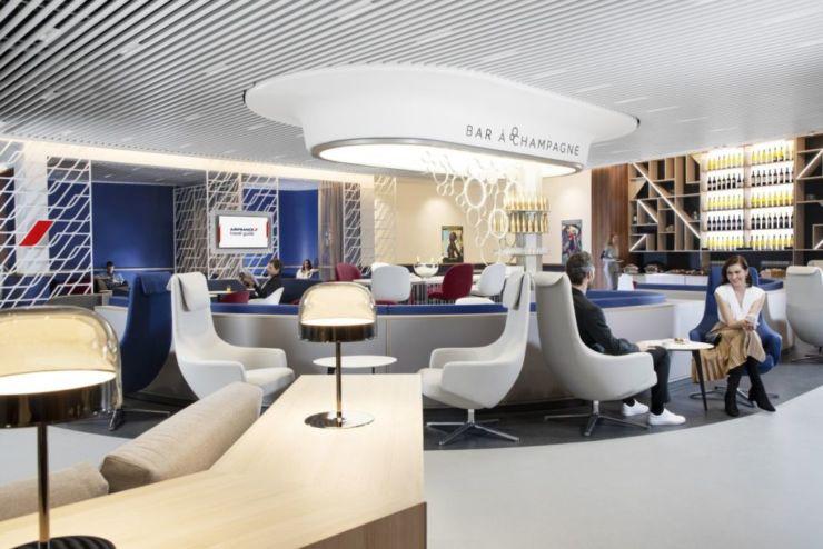 air france lounge