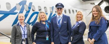 alaska airlines uniform