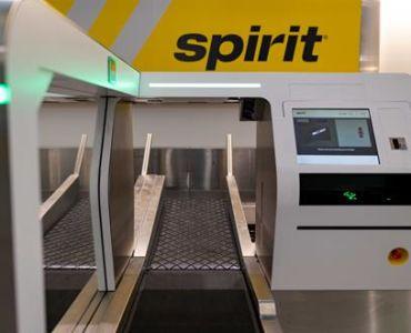 spirit airlines self bag drop