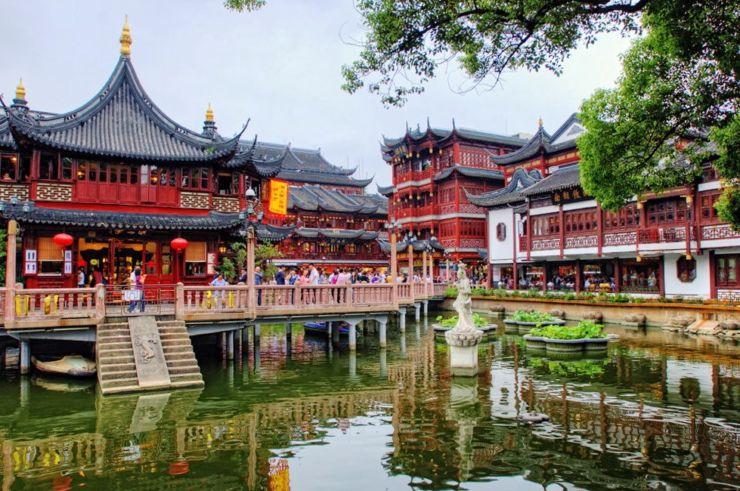 Shanghai's Yuyuan Garden China