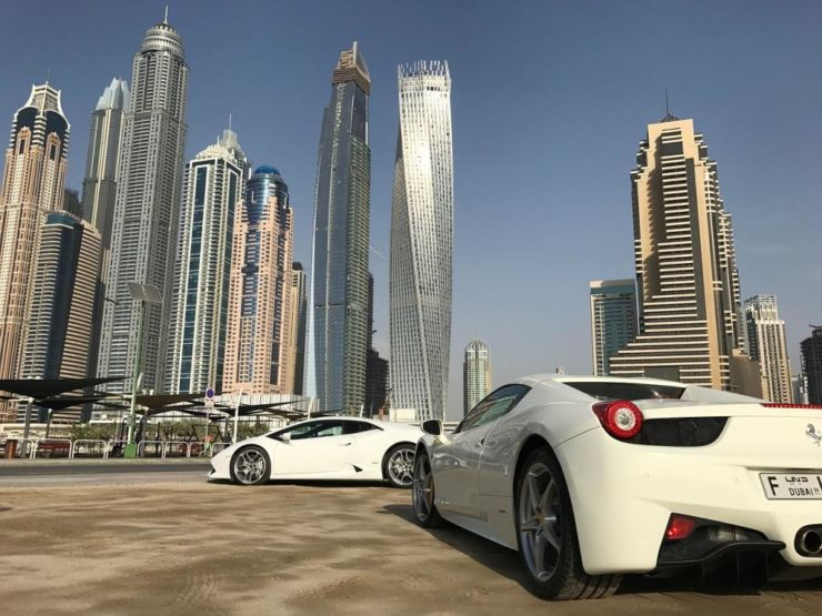 dubai luxury car