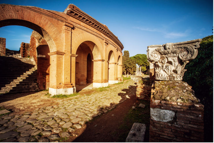 European Heritage LabelArchaeological Area of Ostia Antica