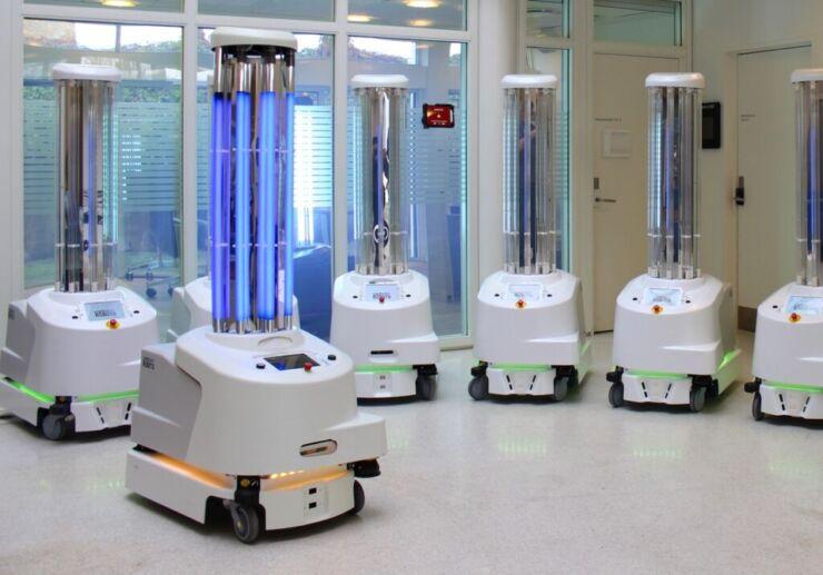 UV Light Robot