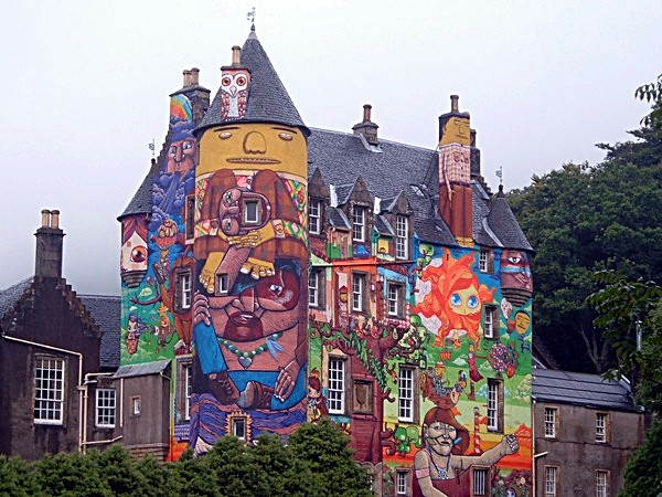Kelburn Castle, Glasgow, Scotland