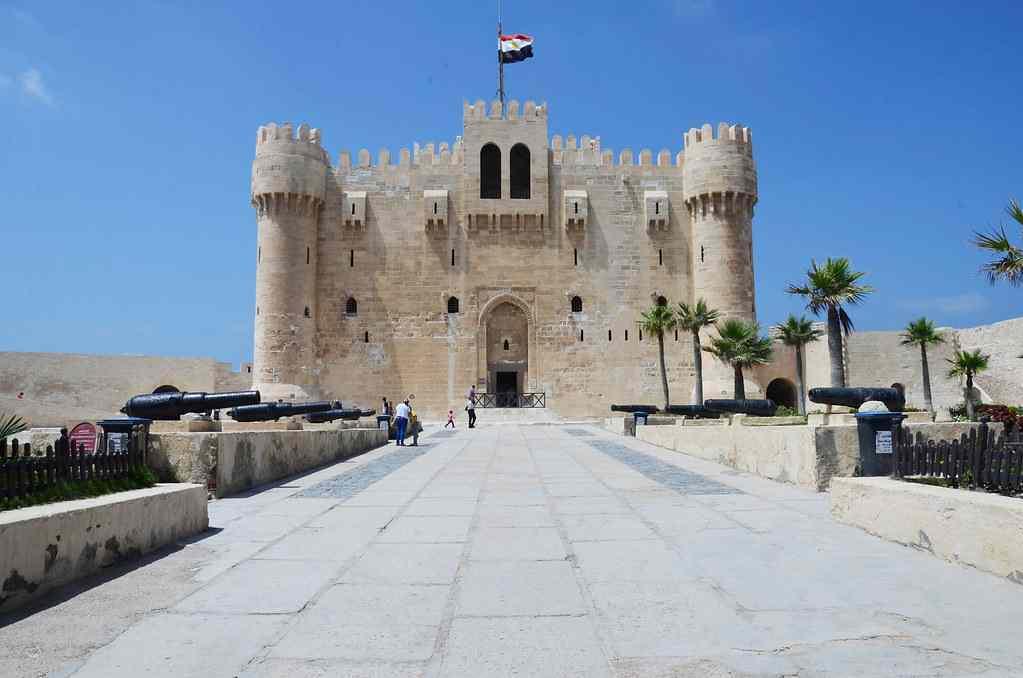 The Citadel Qaitbey egypt