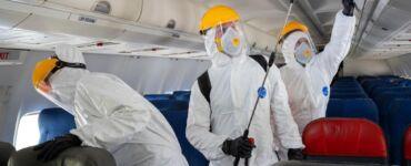 aircraft desinfection