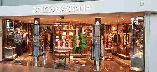 dolce gabbana Nice Côte d'Azur Airport