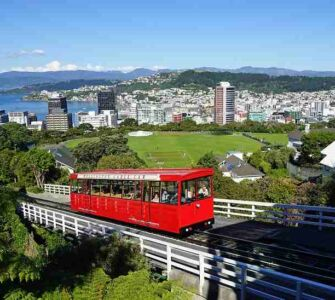 Cable Car North Island Wellington City New Zealand