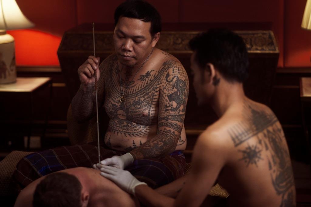 Anantara Siam - Sak Yant Private sacred tattoo session