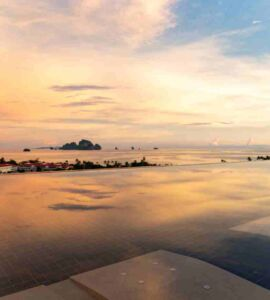 Avani Ao Nang Cliff Krabi Resort - Infinity Pool Sunset