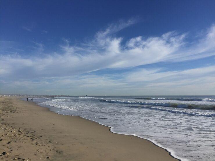 Newport Sands uk beach