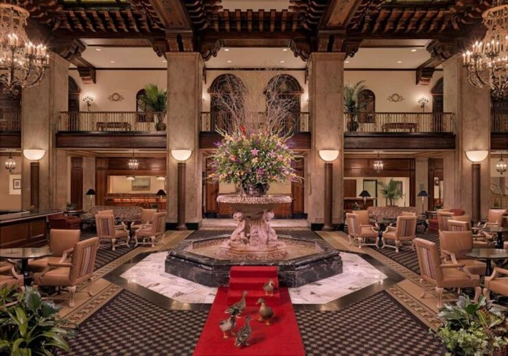 The Peabody Memphis Historic Hotel