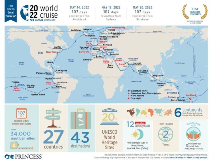 World Cruise Princess Cruises