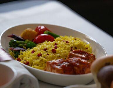 Qatar Vegan menu
