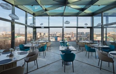 Twins Garden Best Restaurants in Moscow