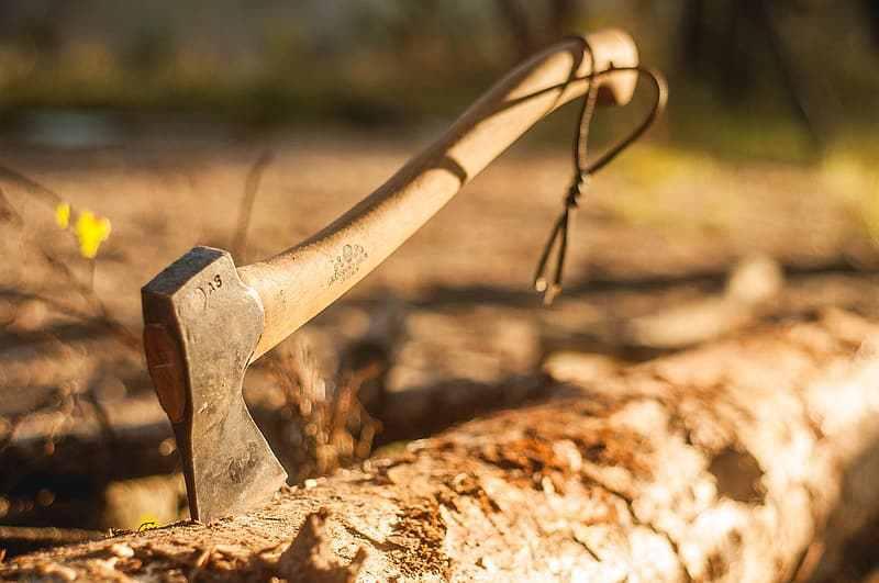 axe camping