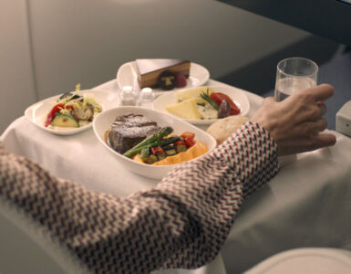 iberia inflight dining