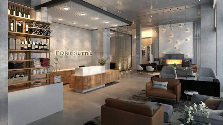 Fort Sutter Hotel Sacramento