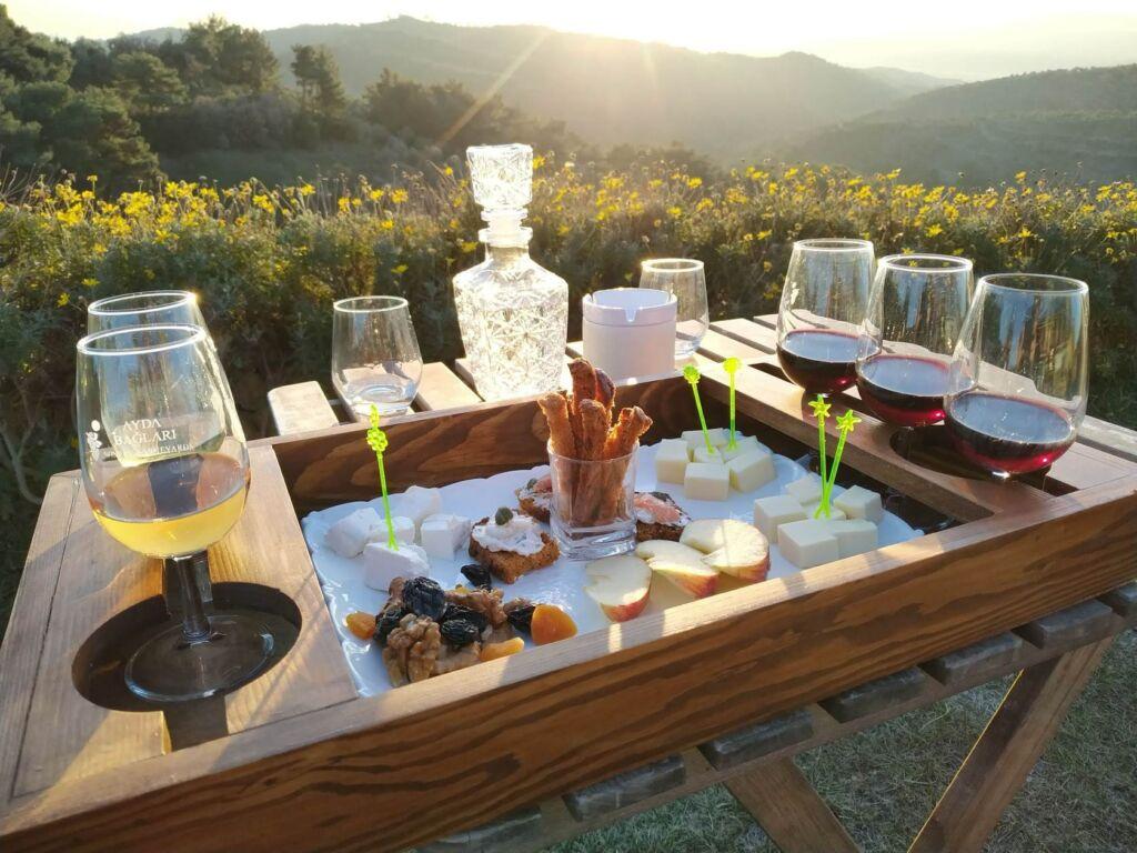 ayda wineries Urla