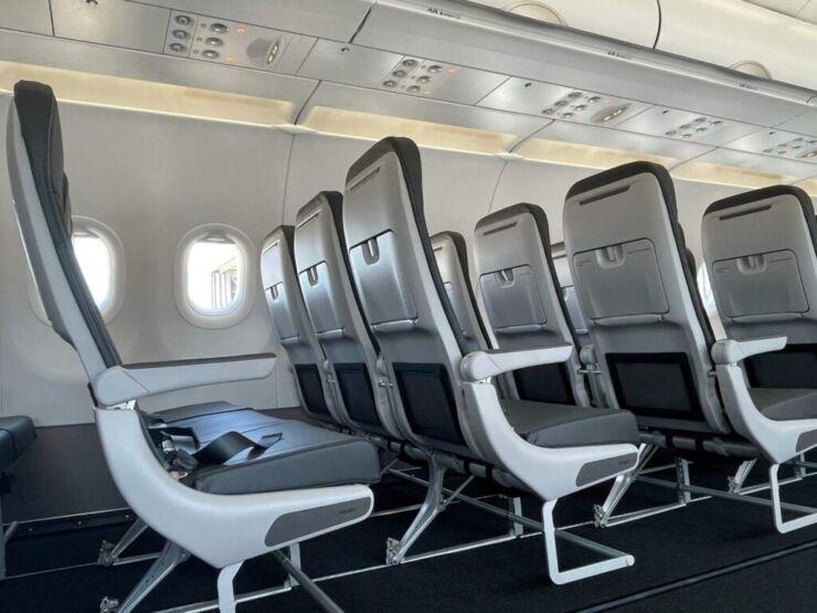 frontier airline seats
