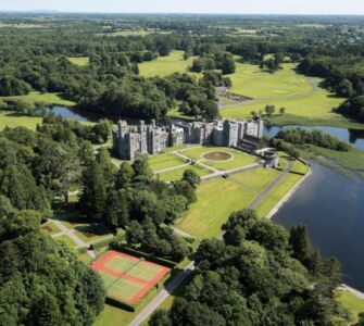 shford castle beyond green