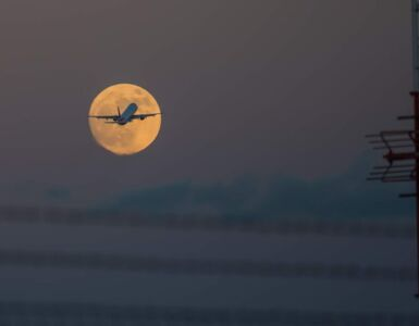 Supermoon Scenic Flight