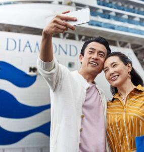 Diamond Princess cruises Asia